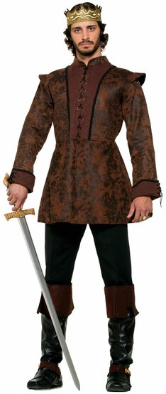 Medieval King Coat Adult Costume