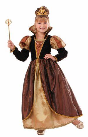 Medieval Queen Kids Costume