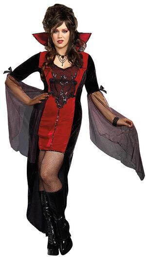 Killing Me Softly Vampiress Plus Size Costume