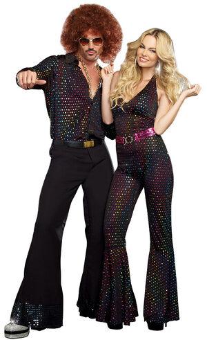 Disco Dude 70s Adult Costume