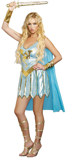 Sexy Dragon Warrior Queen Costume