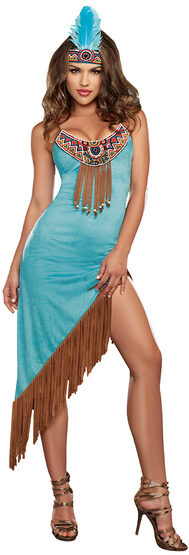 Sexy Tribal Temptress Indian Costume