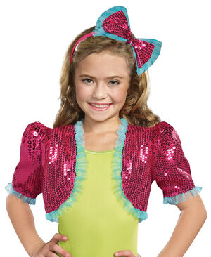 Pink Dance Craze Bolero Shrug
