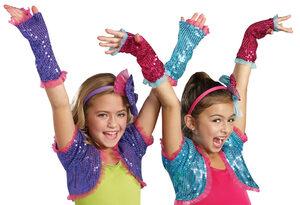 Purple Dance Craze Arm Warmers