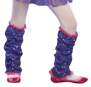 Purple Dance Craze Leg Warmers