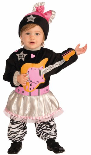 80s Rockstar Baby Costume