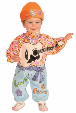 Peace Out Hippie Baby Costume