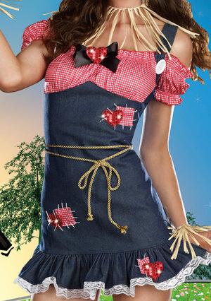 Sexy Wizard of Oz Scarecrow Cutie Costume