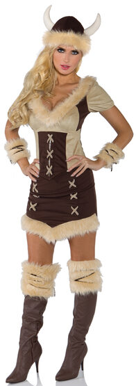 Sexy Viking Queen Costume