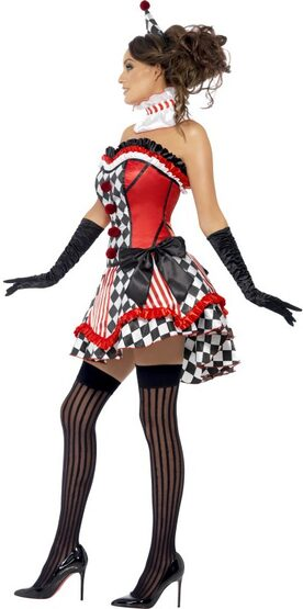 Circus Cutie Sexy Clown Costume