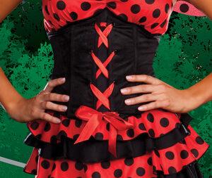 Sexy Lovely Ladybug Costume