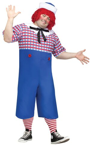 Raggedy Andy Storybook Plus Size Costume