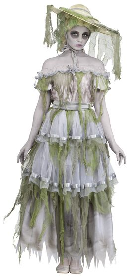 Zombie Southern Belle Adult Costume