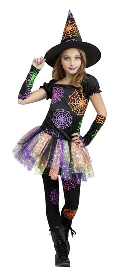 Wild Sassy Witch Kids Costume