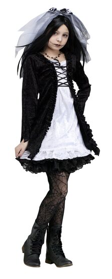 Frankie's Girl Gothic Kids Costume