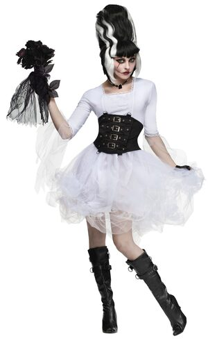 Gothic Monster Bride Adult Costume