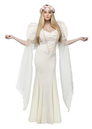 Ivory Angel Adult Costume