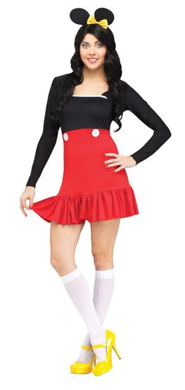 Sexy Miss Mickey Mouse Costume