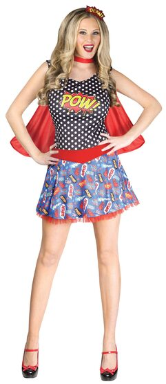 Pow Comic Book Cutie Adult Costume