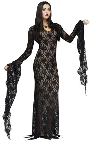 Lady Morticia Gothic Adult Costume