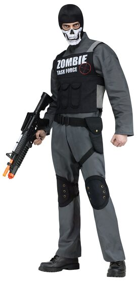 Zombie Task Force Adult Costume