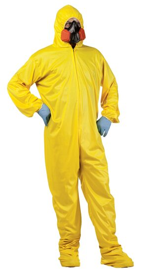 Scary Mens Hazmat Adult Costume