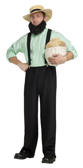 Amish Mafia Adult Costume