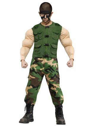 Jungle Ops Military Kids Costume