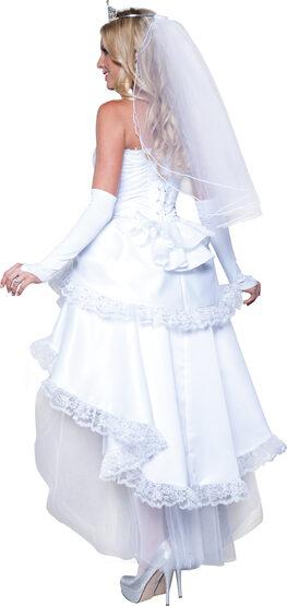 Sexy Blushing Bride Costume