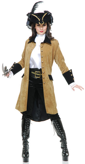Elegant Pirate Woman Adult Costume