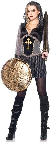Sexy Joan of Arc Medieval Costume