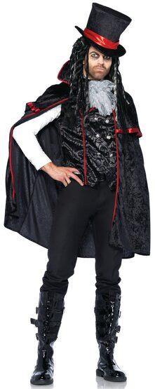 Classic Gothic Vampire Adult Costume