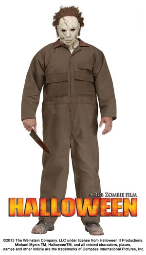 Michael Myers Scary Plus Size Costume