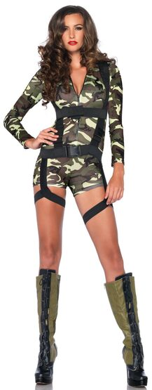 Sexy Goin' Commando Army Costume
