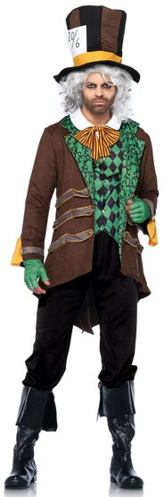 Classic Mad Hatter Adult Costume