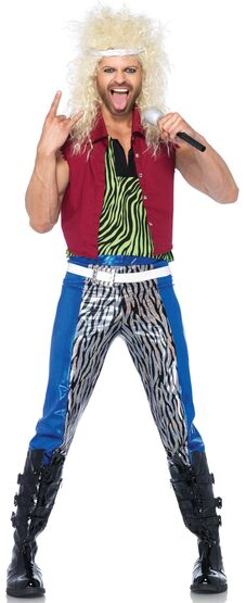 80s Rock God Adult Costume