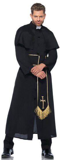 Priest Religious Adult Costume