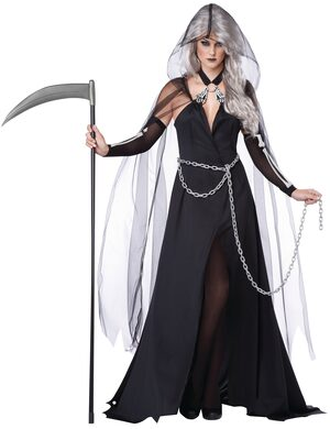 Sexy Lady Reaper Scary Costume