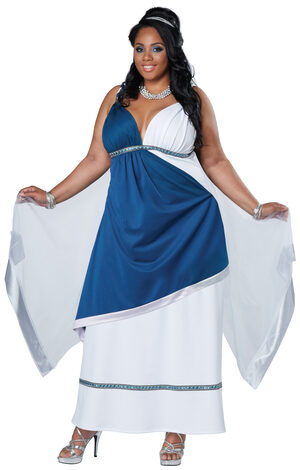 Roman Beauty Goddess Plus Size Costume