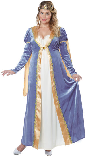 Elegant Renaissance Empress Plus Size Costume