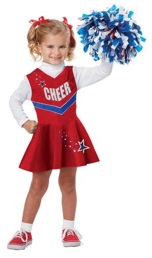 Chipper Cheerleader Kids Costume