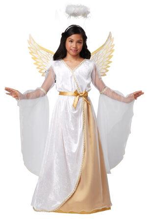 Guardian Angel Kids Costume