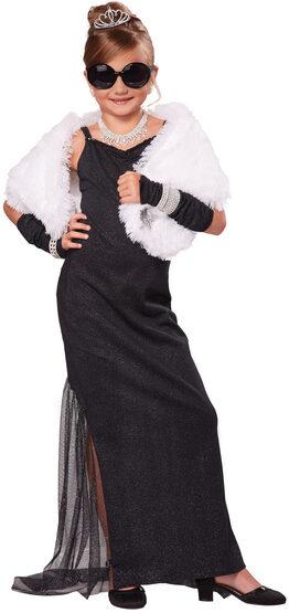 Hollywood Diva Kids Costume
