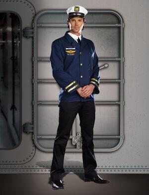 Captain Hugh G. Vessel Sailor Adult Costume