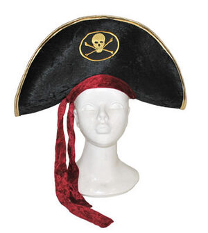 Velour Pirate Hat