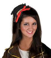Mini Pirate Clip on Hat