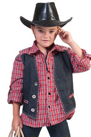 Boys Cowboy Vest Kids Costume