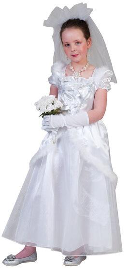 Elegant Bride Kids Costume