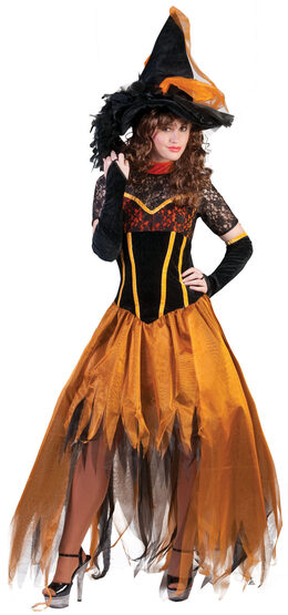 Sexy Autumn Witch Costume