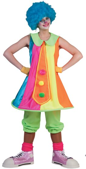 Penny Prankster Clown Adult Costume